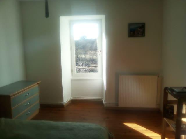 Chambre avec belle vue