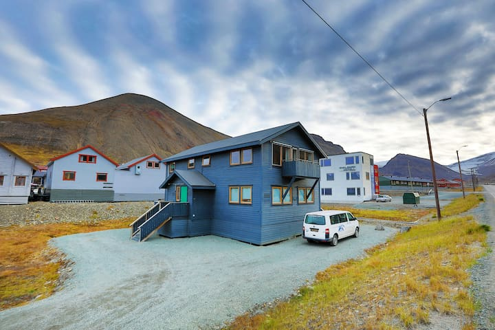 Polar Bear Lodge in the heart of Longyearbyen