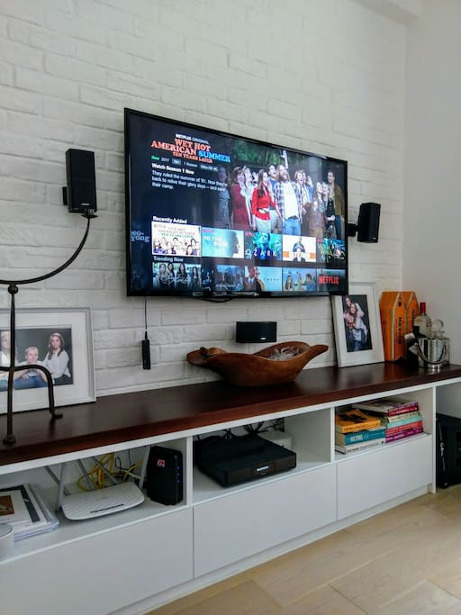 TV with Bose Surround Sound and Netflix