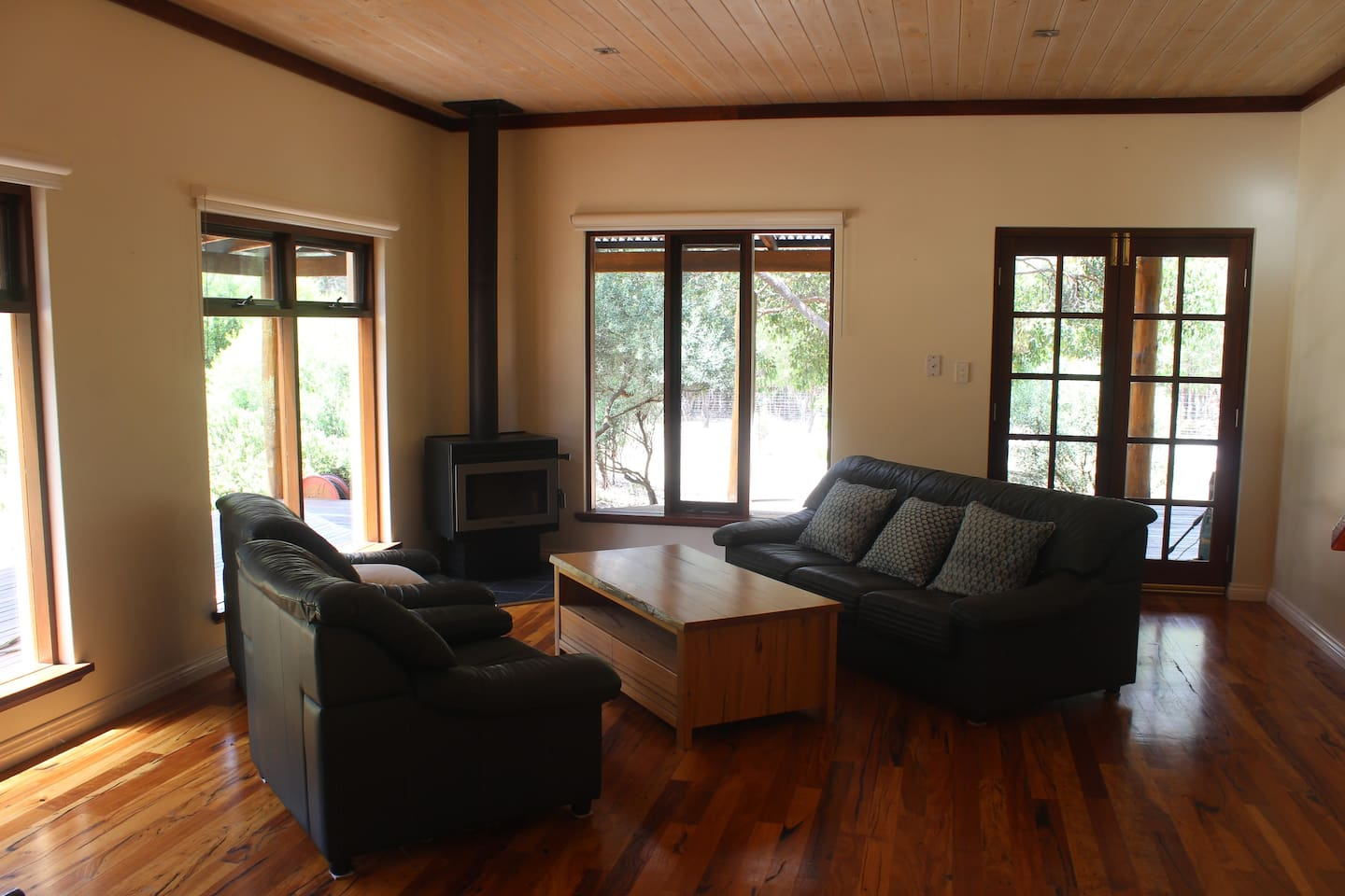 Downstairs living area