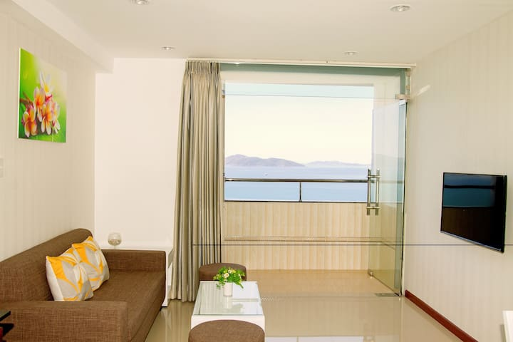 LUXURY SEA VIEW APARTMENT - TWO BEDROOMS - tp. Nha Trang - Flat