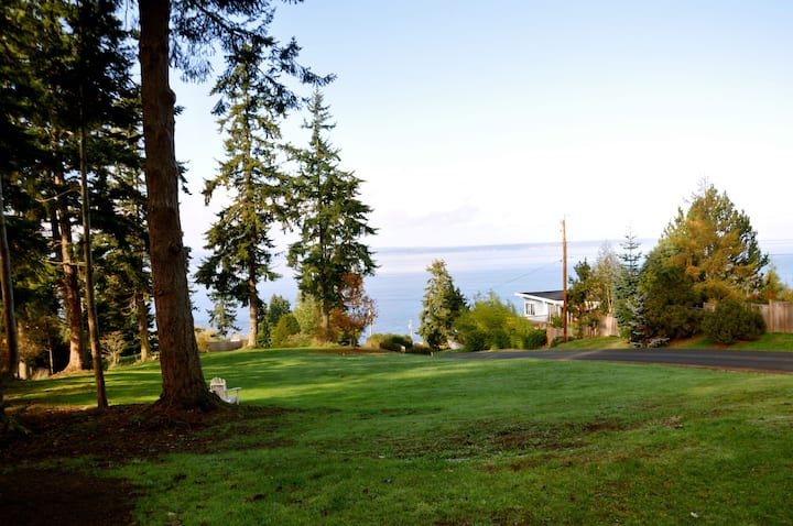 Puget Sound view, dogs welcome