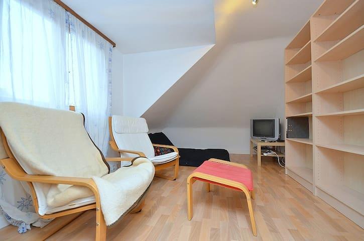 Gemütliche Dachgeschosswohnung - Stuttgart - Daire