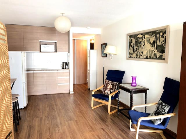¡Spacious studio in Pocitos  with Free WIFI!