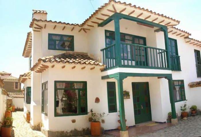 CASONA COLONIAL EL REFUGIO DE LOS VIRREYES - Villa de Leyva - House