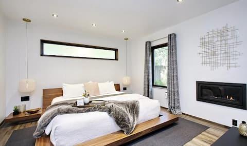 고모레비 하우스-숲속의 현대적인 럭셔리