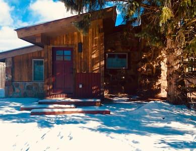 Modern-Rustic Luxury Mountain Cottage