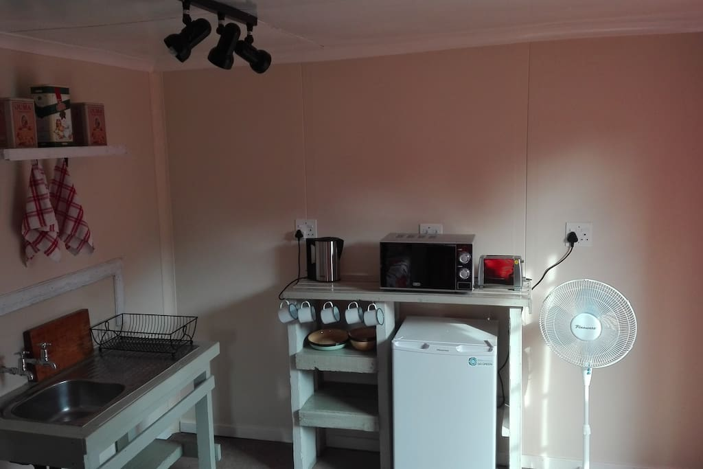 Kitchenette in family room