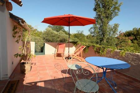 appartement de charme dans un mas provencal - Saint-Mitre-les-Remparts