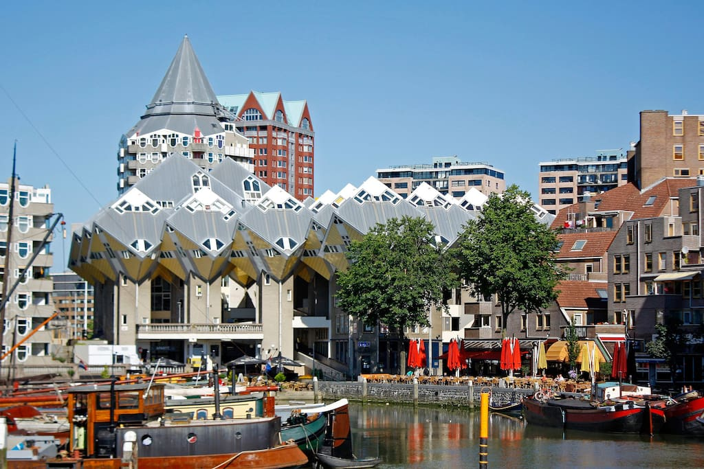 A nice neighborhood in the heart of Rotterdam!