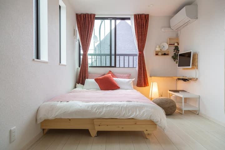 Cozy Vibes  RD  Loft room. Higashi-Shinjuku 5 mins