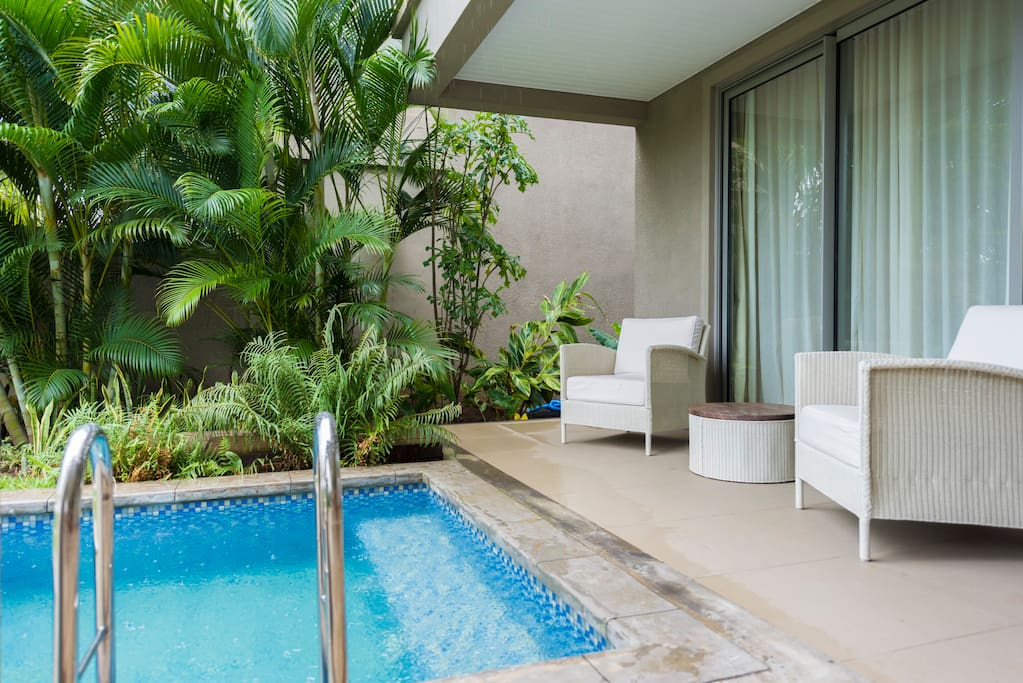 la balise marina 2bedroom duplex with private pool villas for rent in port louis rivi re. Black Bedroom Furniture Sets. Home Design Ideas