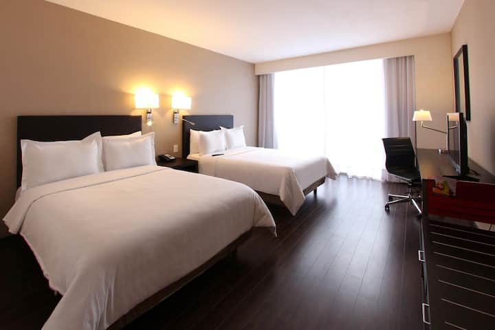 Stunning Room Superior Two Double Beds At Chihuahua