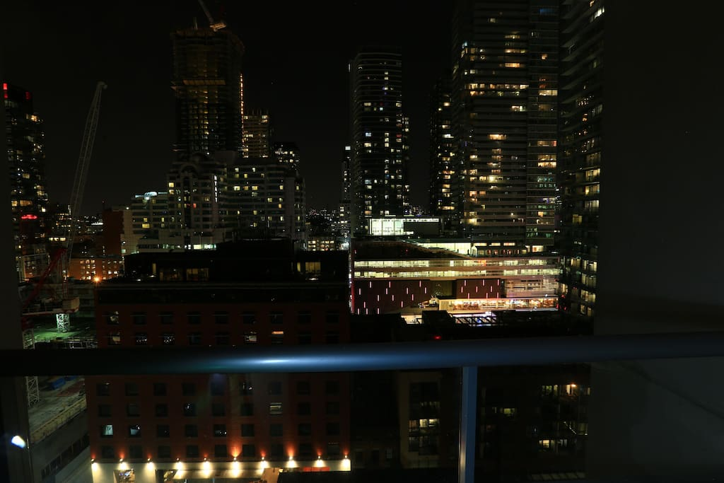 Balcony view overseeing Bell lightbox 2