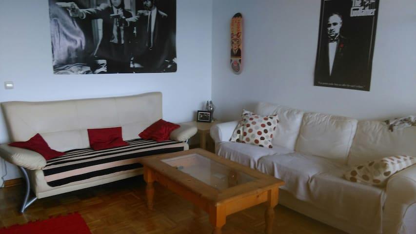 Livingroom ,2 sofas & balcony - Colonia - Departamento