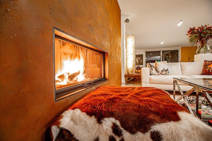 Moderne Art-Villa auf dem Bruderholz