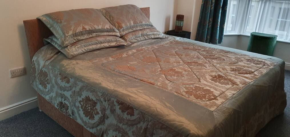 Comfortable room sleeps 1 or 2 guests.