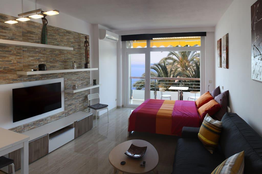 Un balc n al mar en costa del sol lofts en alquiler en torremolinos andaluc a espa a - Estudio en torremolinos ...