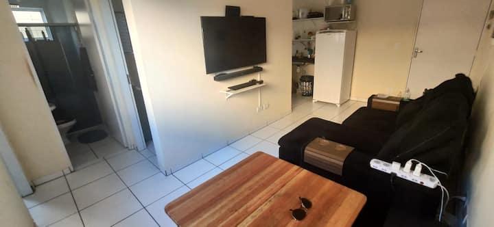 Apartamento térreo mobiliado em Rita Vieira
