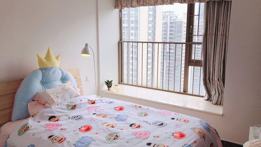 【纯女生】珠江新城/广州塔/广粤天地 猎德花园 高楼层 独立卫生间 拎包入住