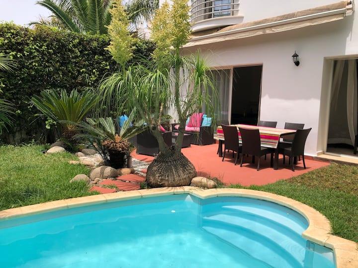 Beautifful villa near Morocco Mall