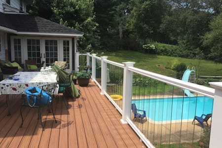 Pool - 2 luxury rooms, private bath Hockessin - Hockessin