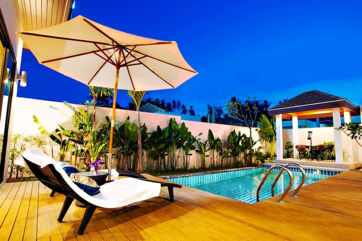 Private Pool Villa 2 bedrooms near Big Buddha#21