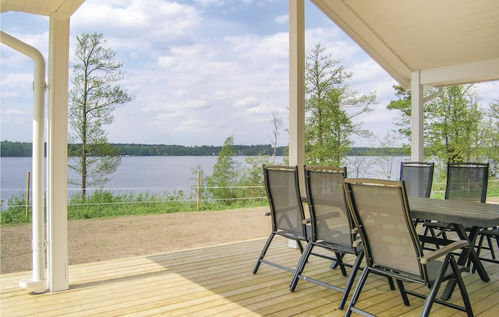 Nice home in Bolmsö with Sauna, WiFi and 3 Bedrooms