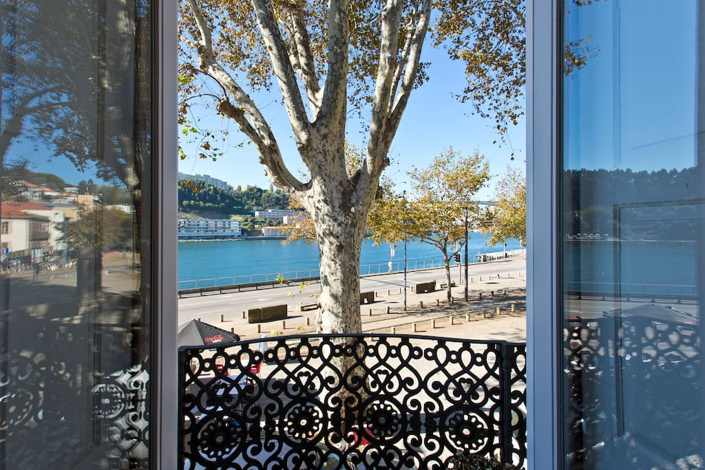 View of the Douro River from the kitchen