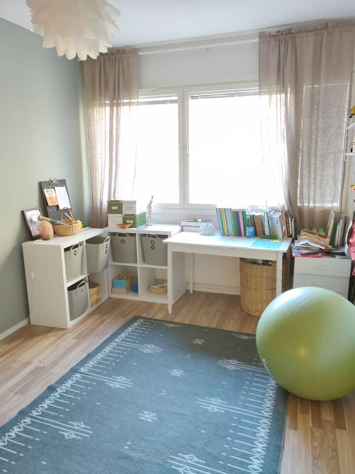 Bedroom in the City of Kouvola