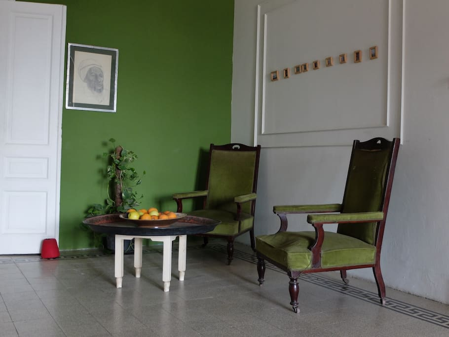 Part of the common area