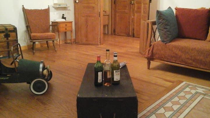 Grand appartement cosy au coeur d'Aniane