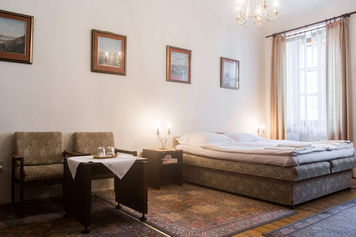 Vintage barrierfree suite close to Charles Bridge