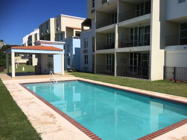 Bahia Real B203 private 1 -bdr near 3 beaches. - Cabo Rojo - Daire