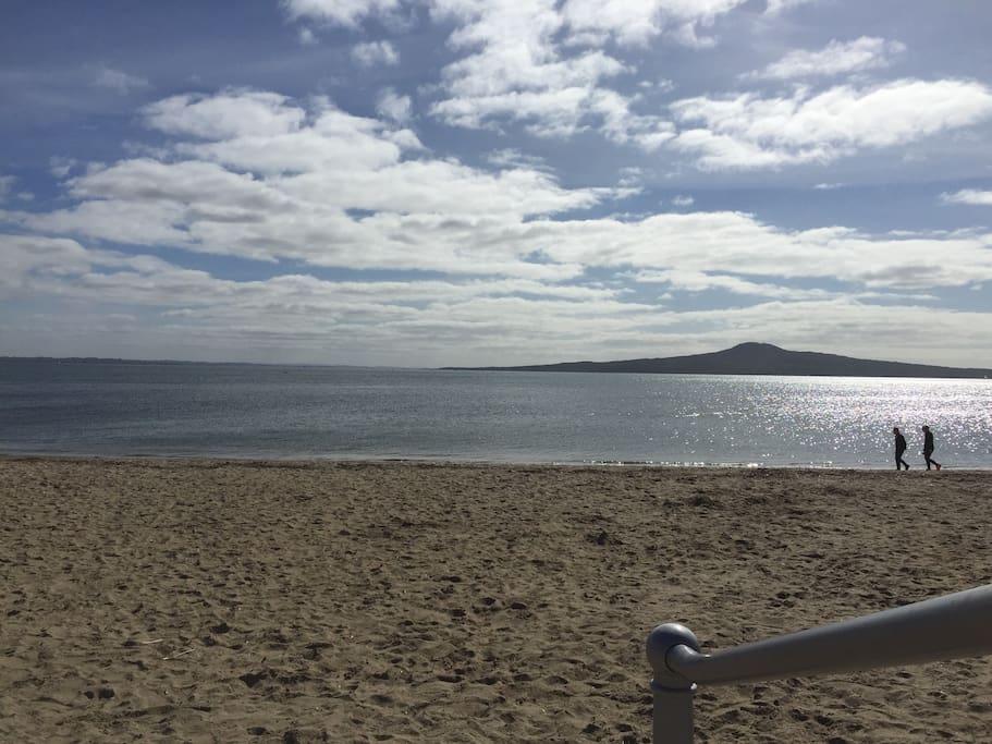Stroll along the beach