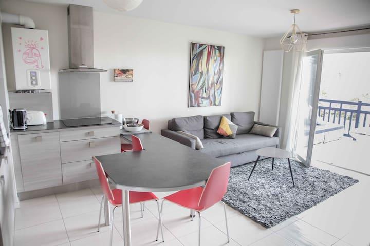 Appartement T2 proche plages Bidart - Biarritz