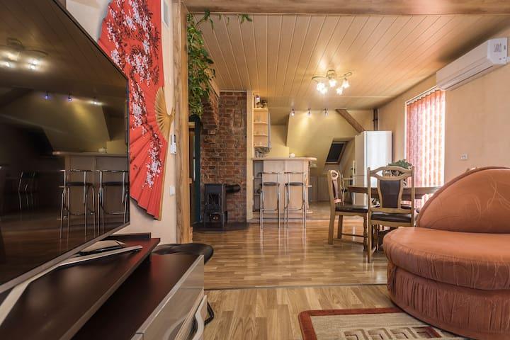 Cosy apartment in Klaipeda Oldtown + free PARKING