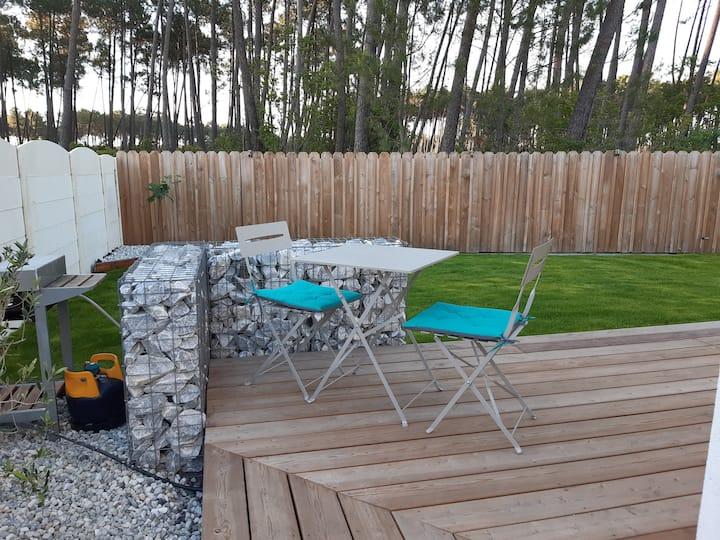 Studio avec terrasse Biscarrosse