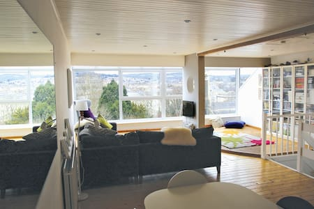Open plan home with incredible view - Bath - Maison