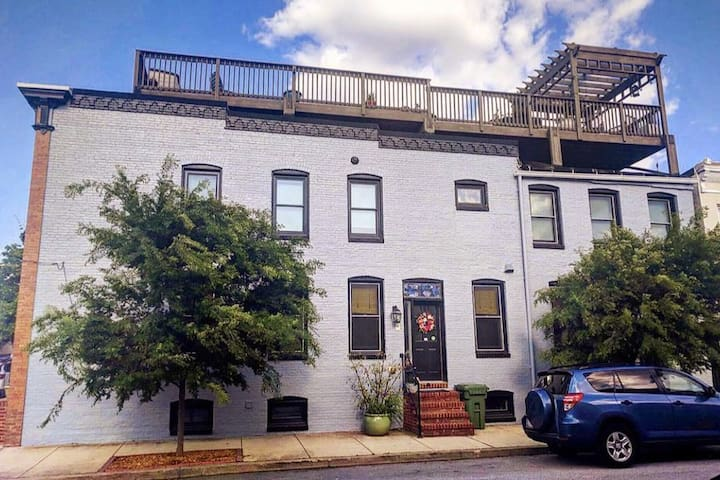 Your Private Perch in the Heart of Historic Canton