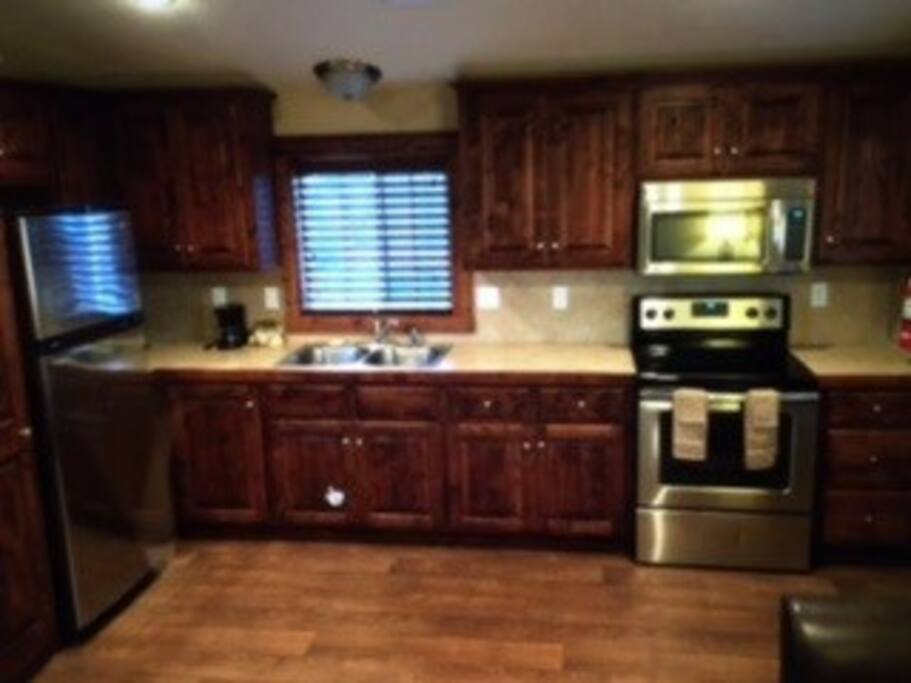 Stainless Steel appliances, and all extras are included