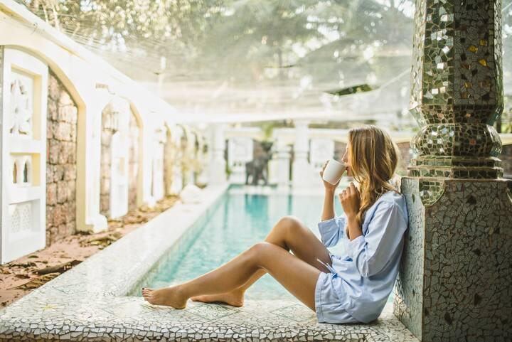 7 Bedroom, 2 Pools. Ultra Luxury Villa, Siolim