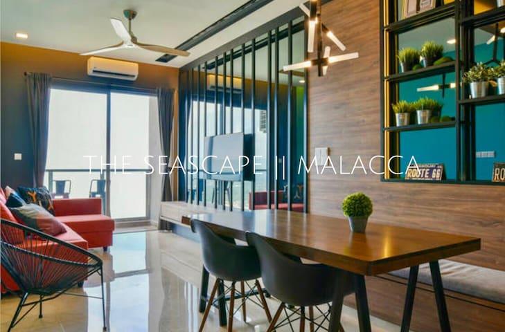 THE SEASCAPE || 海景套房 - Melaka - Apartament