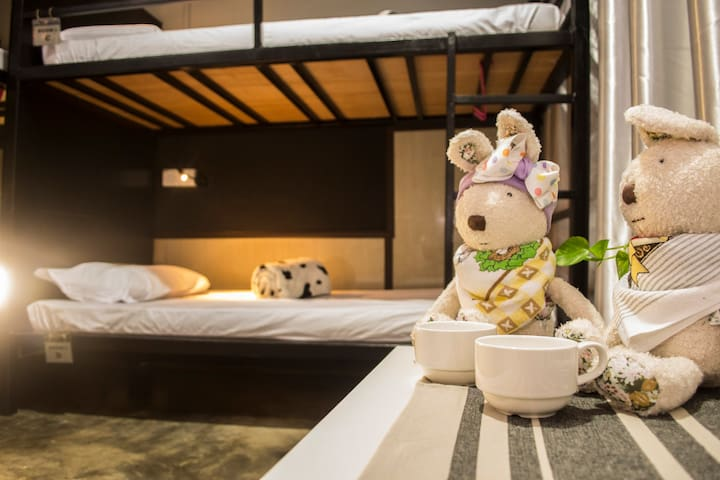 B&B@21 (4-beds Dorm Room) - Kota Kinabalu - Bed & Breakfast