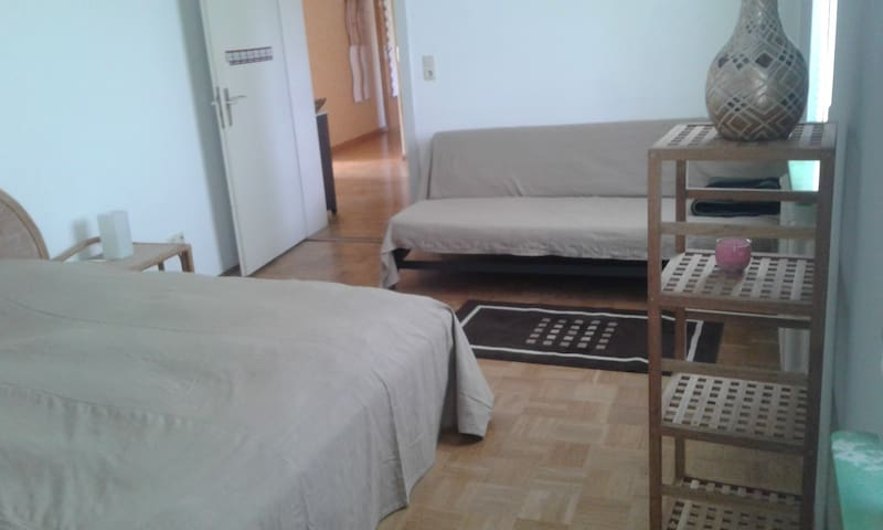 cozy & spacious room close to airport