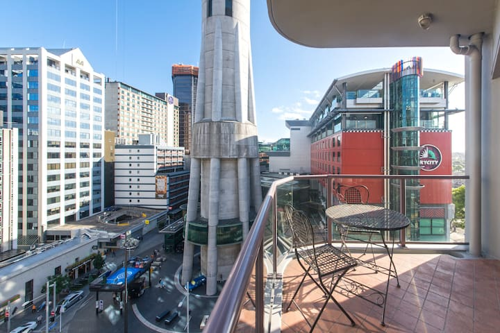 Home in the heart of Auckland CBD