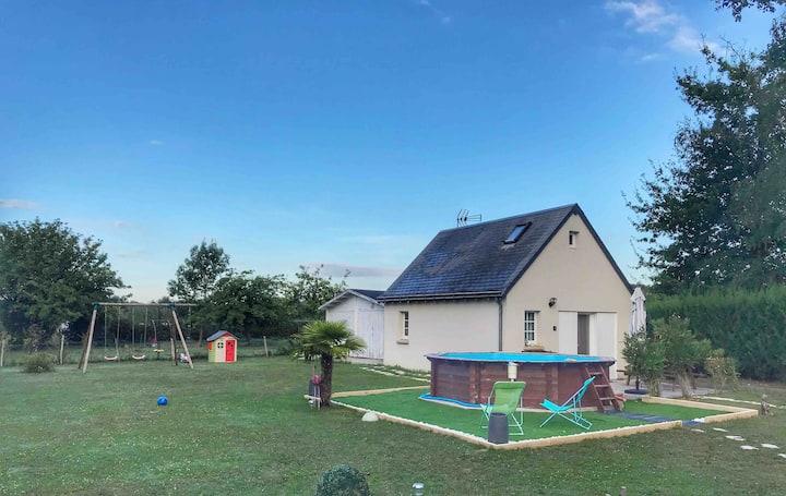 «Le Bout du Monde»  Guest House en Touraine