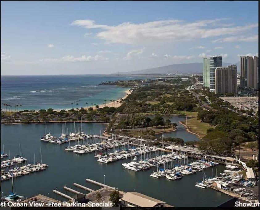 Best In Waikiki-Panoramic Ocean-View- $99 #3301 - 호놀룰루(Honolulu)의 ...