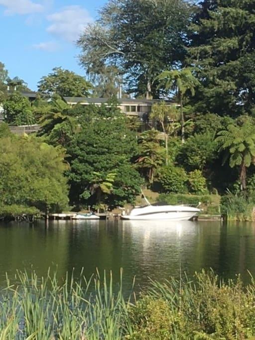 Waterfront property | Native bush and birds | Handy to Rotorua | Okere Falls