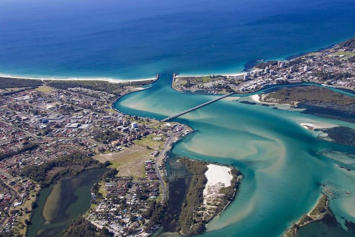 Mansfield at the Beach - Forster Holiday Apartment - Forster - Apartament